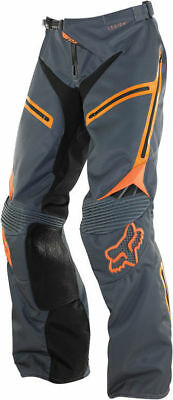 Fox Racing Legion Mx Enduro  Grey Orange Over Boot Ex Pants Size 30 Save $200+