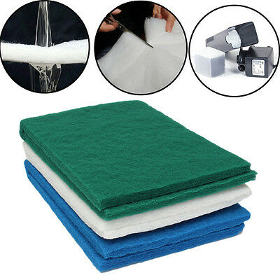 UK Biochemical Cotton Filter Foam Sponge Pad for Aquarium Fish Tank Pond 90*30cm