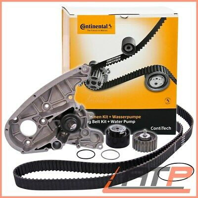 Contitech Timing Belt Kit + Water Pump Fiat Ducato 244 2.3 Jtd 02-