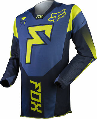Fox Racing  Mx Enduro Off Road Franchise Jersey Blue Size Small