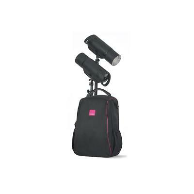 Bowens XMT500 2-Light Battery-Powered Flash Kit with Stands  Backpack