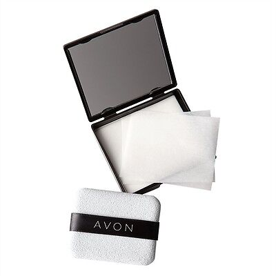 Avon Blotting Paper Compact with Mirror