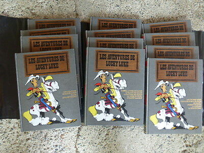 Lucky Luke Hachette Collection intégrale complète Morris Goscinny . 12 Volumes