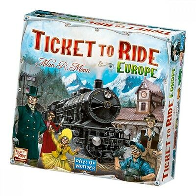 Ticket to Ride Europe - Brand New!