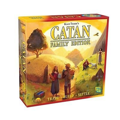 Settlers of Catan Family Edition Board Game - Brand New!