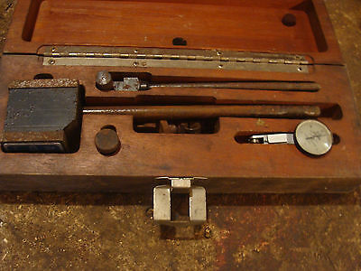 Brown And Sharpe 7030-3 Best Test, Indicator Dial Assy, In Wooden Box