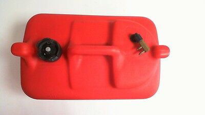 System Matched Plastic Portable Marine Fuel Tank 6 US Gallons #6C158