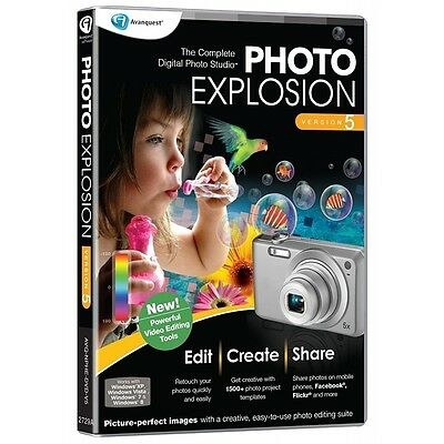 Avanquest Photo Explosion 5 - Brand New!