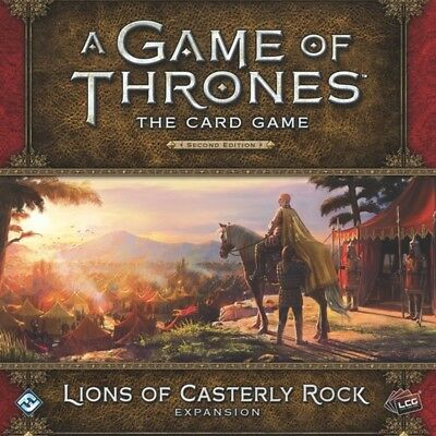 A Game of Thrones The Card Game Second Edition Lions of Casterly Rock - Brand...