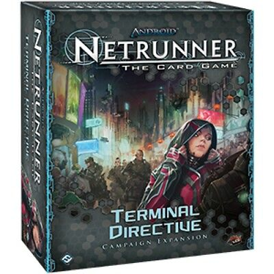 Android Netrunner LCG Terminal Directive - Brand New!