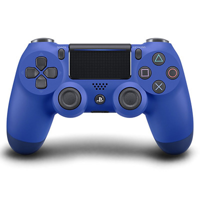 New Sony Dualshock 4 V2 Wave Blue Controller PS4