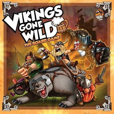 Vikings Gone Wild The Board Game - Brand New!