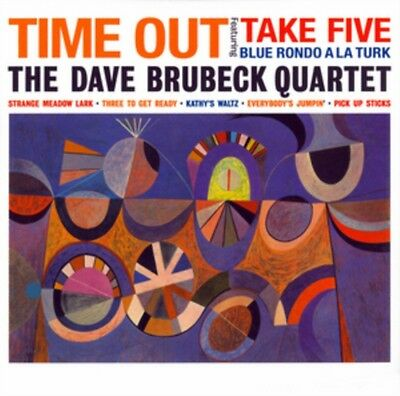 DAVE BRUBECK QUARTET Time Out LP Vinyl BRAND NEW 2015