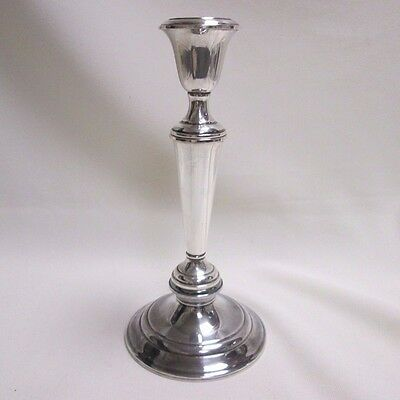 Vintage Pilgrim Silverplate Candlestick Candle Holder Model P586