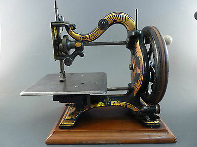 1870s AGENORIA SEWING MACHINE BY MAXFIELD, WITH CASE