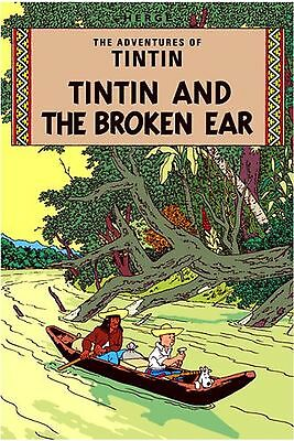 The Broken Ear (The Adventures of Tintin) NEW BOOK