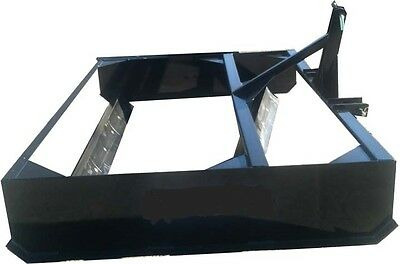 NEW 6' TRACTOR 3 POINT USA LAND PLANE,ROAD DRIVEWAY GRADER BOX BLADE holland