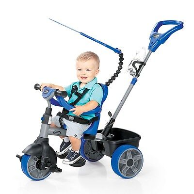 Little Tikes 4-in-1 Trike Basic Edition - Blue