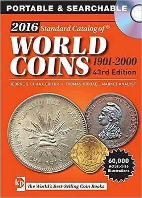 NEW! 2016 Standard Catalog of World Coins 1901-2000 by George Cuhaj [CD]