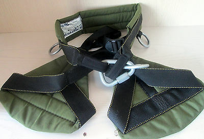 New Tribe Model K Recreational Tree Climbing Saddle  Belt Harness XS EXCELLENT