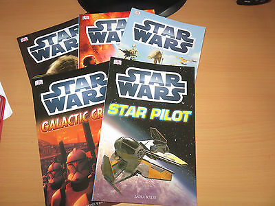 Brand New Set Of 5 Star Wars Books