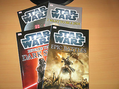 Brand New, Set Of 4 Star Wars Books
