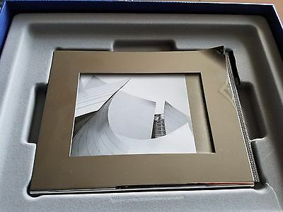 never used: SWAROVSKI CRYSTAL AMBIRAY PICTURE FRAME w/box