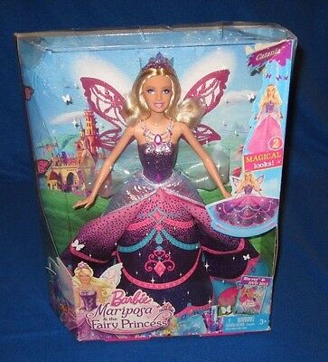 Barbie Mariposa & The Fairy Princess Catania Doll Y6373 **NEW**