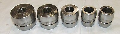 "AMMCO 4100 LATHE Set 9232 1"" DOUBLE TAPER ADAPTER SET 9194 9193 9192 9922 9921"