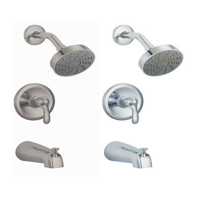 MTD Victoria S8622 Showerhead with Tub Faucet Combo