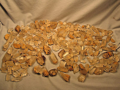 Uber Rare Humungous Lot Of Quartz Points From Columbia New Jersey Nj !