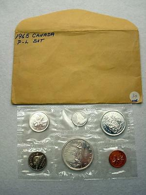 1965 Canada Proof-Like Silver 6-Coin Mint Set (65B)
