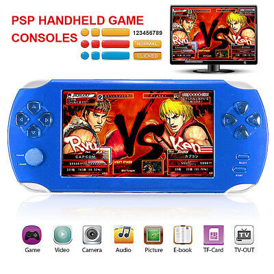"Console Portatile Pvp Station Display Lcd 5"" 8Gb 64 Bit Giochi 3D Videogioco Dvd"