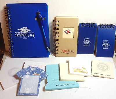 Disney Castaway's Club + Promo Lot of 10+  UNUSED (C-7114)