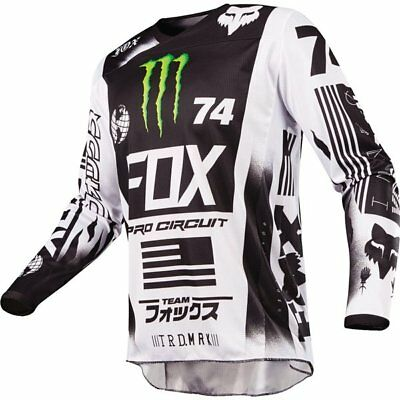 Fox Racing 180 Monster Pro Circuit Special Edition Jersey Motocross Jersey