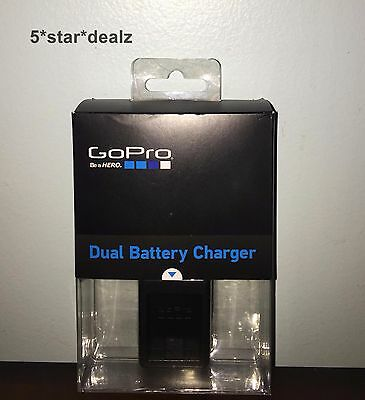 Official GoPro Dual Battery Charger For Hero3/Hero3+ AHBBP-301 NEW