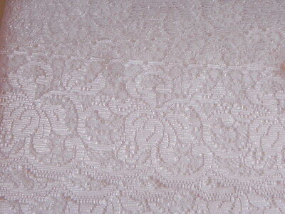 Card of New Lace - White Sheen