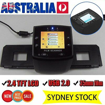 5MP 35mm Film Slide VIEWER Scanner to Digital Photo USB Color Photo Copier SY