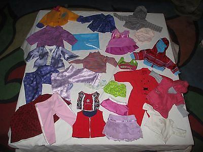 American Girl Doll Clothes all tagged pieces and parts lot