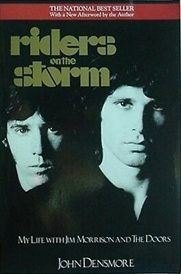 Jim Morrison & The Doors, 1990 Book (Riders On The Storm) 32 Pages Of Photos