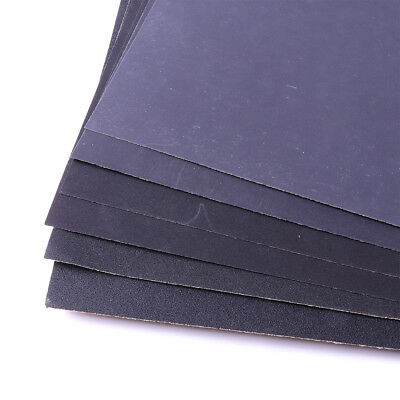 Sandpaper Wet or Dry 10 sheets 9'' x 11'' COMBO 280/400/1000/1500/2000 Grit