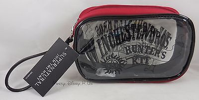 Supernatural Winchester Brothers Hunters Cosmetic Make-Up Tote Vanity Bag Purse
