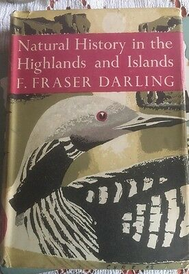 Natural History in the Highlands and Islands NEW NATURALIST SERIES 1st  D/J 1947