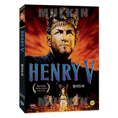 Henry V (1944) DVD - Laurence Olivier (*New *Sealed *All Region)