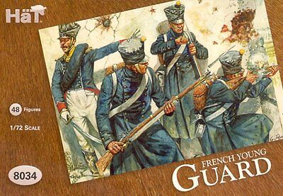 HaT 1/72 Napoleonic French Young Guard # 8034