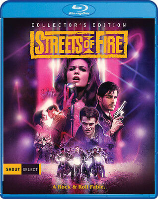 Streets Of Fire - 2 DISC SET (2017, REGION A Blu-ray New)