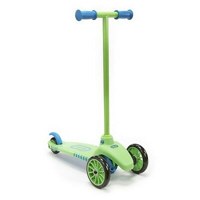 Little Tikes Lean to Turn Scooter with Removable Handle  Green/Blue