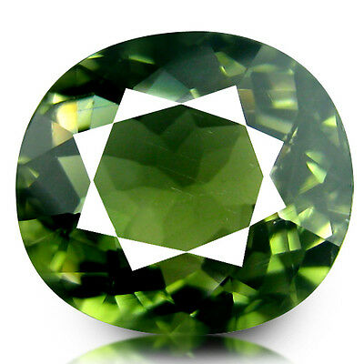 3.36Ct Ring Size! Fantastic Good Quality Unheated Mozambique Green Tourmaline