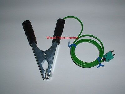 Type K Pipe Clamp Industrial Thermometer Thermocouple Temperature Probe Sensor