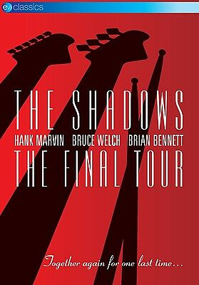 The Shadows - The Final Tour  Dvd Neu